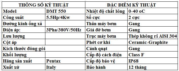 thong-so-ky-thuat-bom-chim-pentax-dmt-550